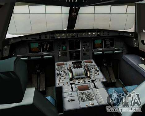 Airbus A380-841 Emirates for GTA San Andreas interior
