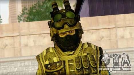 Soldiers of the EU (AVA) v4 for GTA San Andreas third screenshot