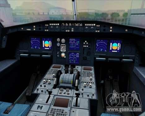 Airbus A330-300 Fly International for GTA San Andreas interior