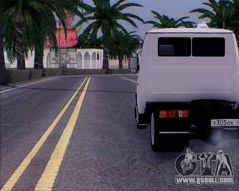 GAZel 3302 for GTA San Andreas left view
