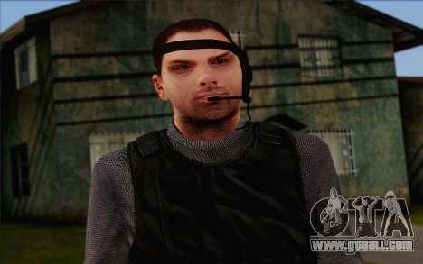 Reynolds from ArmA II: PMC for GTA San Andreas third screenshot