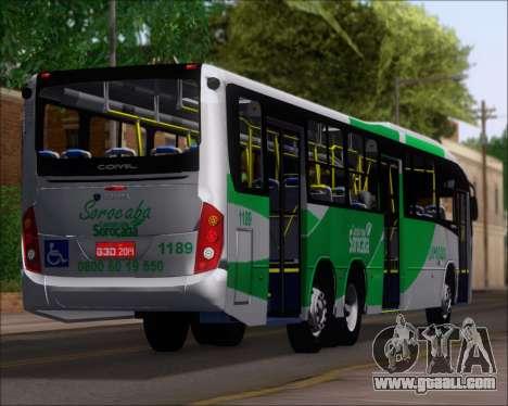 Comil Svelto BRT Scania K310IB 6x2 Sorocaba for GTA San Andreas wheels