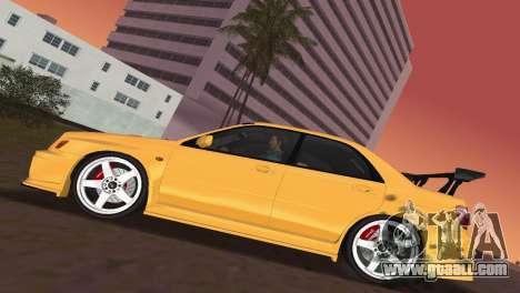 Subaru Impreza WRX 2002 Type 5 for GTA Vice City inner view
