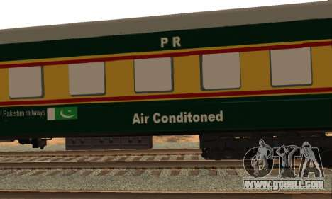 Pakistan Railways Train for GTA San Andreas inner view