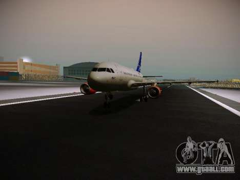 Airbus A319-132 Scandinavian Airlines for GTA San Andreas