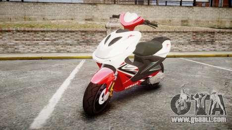 Yamaha Aerox for GTA 4