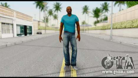 Blue Shirt Vic for GTA San Andreas