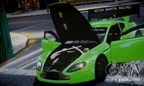 Aston Martin Vantage GTE for GTA 4 back left view
