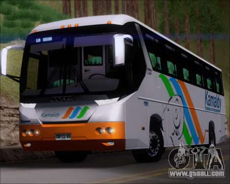Comil Campione 3.45 Scania K420 Kamaldy for GTA San Andreas side view