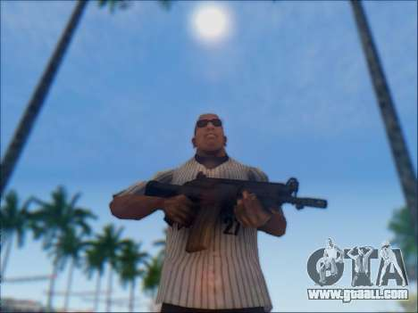 Israeli carbine ACE 21 for GTA San Andreas twelth screenshot