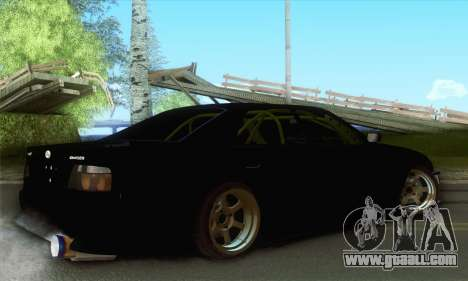 Toyota Chaser Drift 2JZ-GTE for GTA San Andreas left view