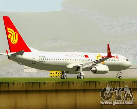 Boeing 737-89L Air China for GTA San Andreas wheels