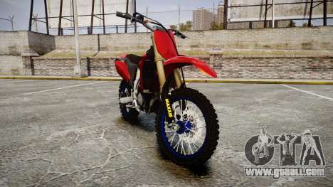 Yamaha YZF-450 Custom for GTA 4