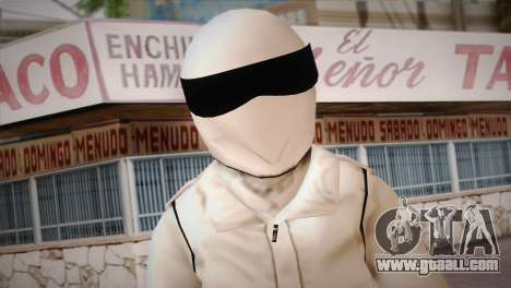 The Stig from Top Gear for GTA San Andreas third screenshot