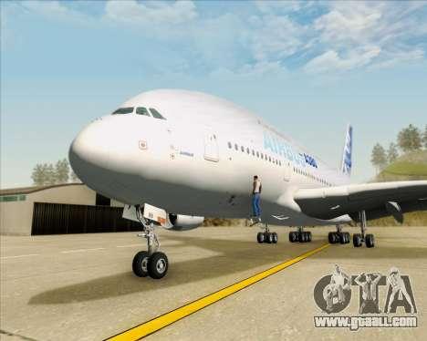 Airbus A380-861 for GTA San Andreas