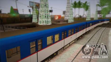 MRT-2 for GTA San Andreas back left view