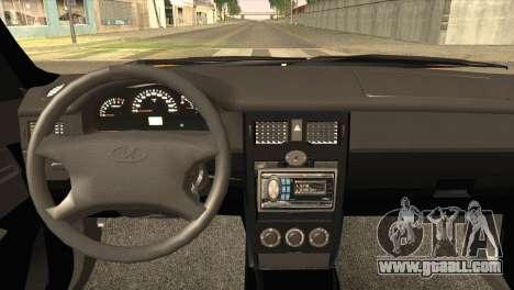 Lada 2170 Priora for GTA San Andreas back left view