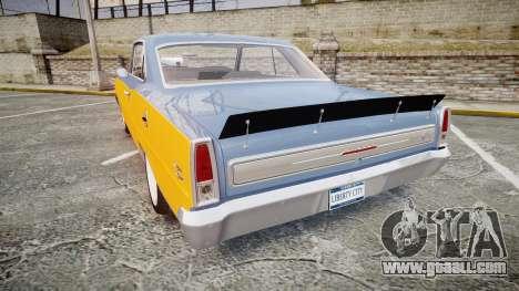 Chevrolet II Nova SS 1966 Custom [EPM] PJ1 for GTA 4 back left view