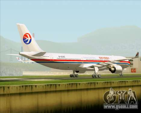 Airbus A330-300 China Eastern Airlines for GTA San Andreas right view