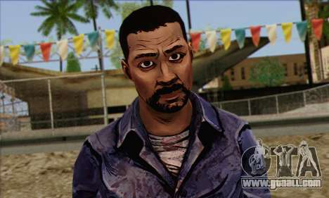 Lee from Walking Dead for GTA San Andreas third screenshot