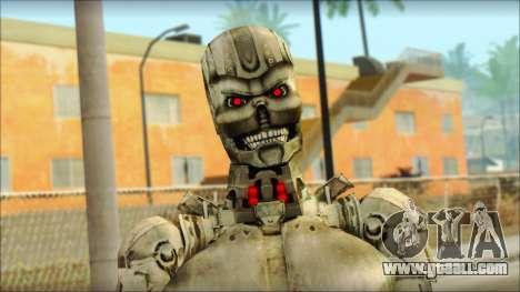 T900 (Terminator 3: war of the machines) for GTA San Andreas third screenshot