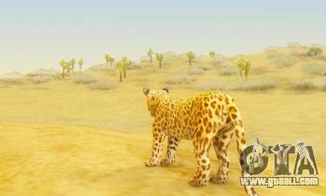 Leopard (Mammal) for GTA San Andreas third screenshot