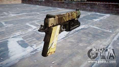 Gun Kimber 1911 Ronin for GTA 4 second screenshot