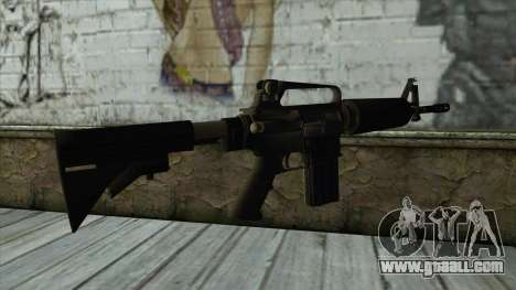 TheCrazyGamer M16A2 for GTA San Andreas second screenshot