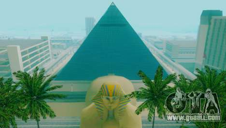 New textures of the pyramid in Las Venturas for GTA San Andreas