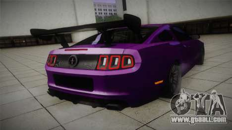 Ford Mustang Boss 302 2013 Road Version for GTA San Andreas right view