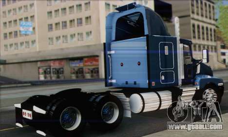 Kenworth T600 for GTA San Andreas left view