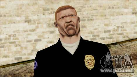 Officer Carver from Cutscene for GTA San Andreas third screenshot