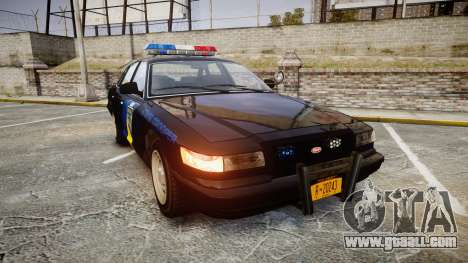 Vapid Police Cruiser LSPD Generation [ELS] for GTA 4