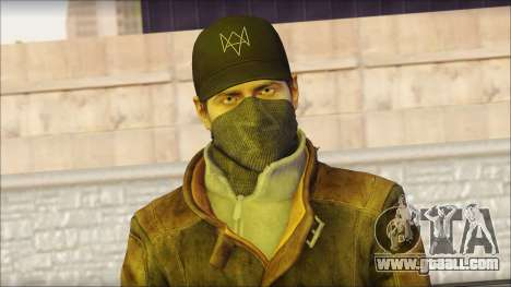 Aiden Pearce from Watch Dogs for GTA San Andreas third screenshot