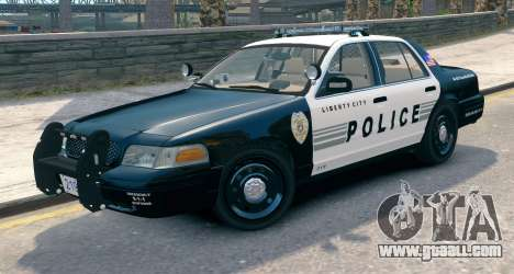Ford Crown Victoria LCPD [ELS] Pushbar for GTA 4