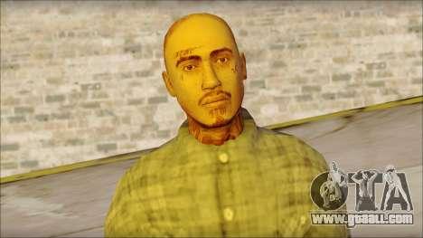 Los Aztecas Gang Skin v1 for GTA San Andreas third screenshot