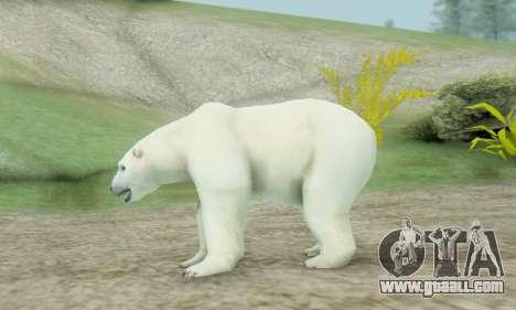 Polar Bear (Mammal) for GTA San Andreas second screenshot