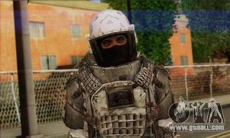 Task Force 141 (CoD: MW 2) Skin 3 for GTA San Andreas third screenshot
