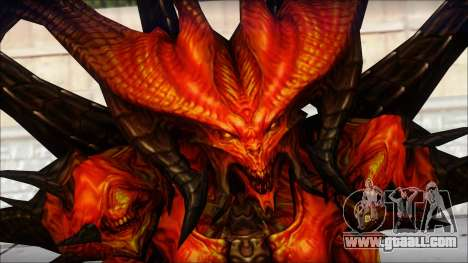 Diablo From Diablo III for GTA San Andreas third screenshot