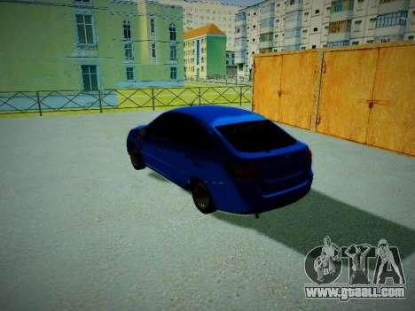 Lada Granta Liftback for GTA San Andreas left view