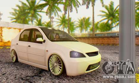 Dacia Logan ZYCU for GTA San Andreas