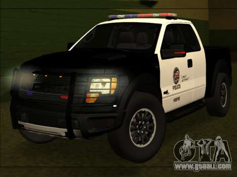 LAPD Ford F-150 Raptor for GTA San Andreas