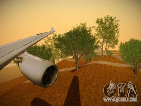 Airbus A330-200 Jetstar Airways for GTA San Andreas engine
