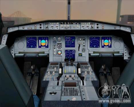 Airbus A330-300 Singapore Airlines for GTA San Andreas interior