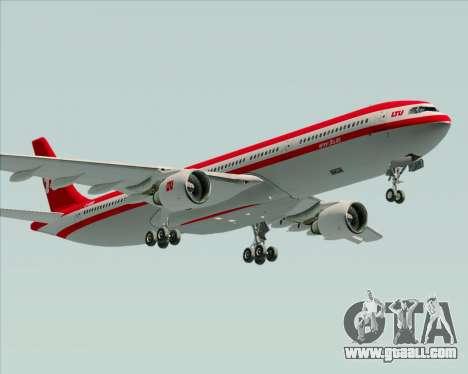 Airbus A330-300 LTU International for GTA San Andreas engine