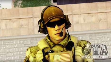 Engineer from BF4 for GTA San Andreas third screenshot