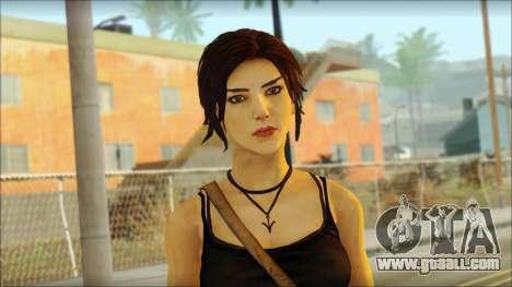 Tomb Raider Skin 4 2013 for GTA San Andreas third screenshot