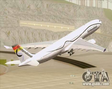 Airbus A330-300 Fly International for GTA San Andreas