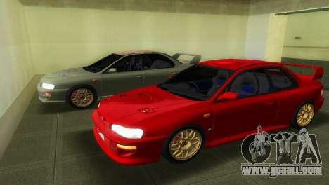 Subaru Impreza WRX STI GC8 22B for GTA Vice City
