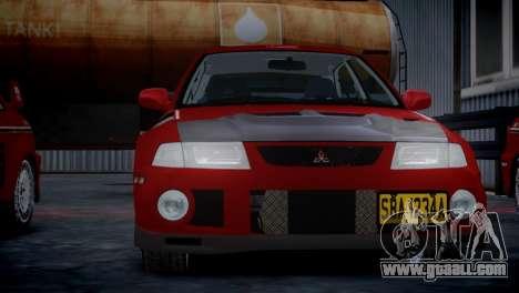Mitsubishi Lancer Evolution VI Rally for GTA 4